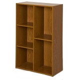 FUNIKA 5 Cube Bookcase [13226] - Dark Brown - Rak Serbaguna